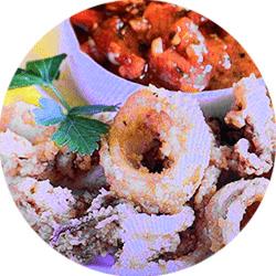 calamari in kenosha, italian food in kenosha, casa capri