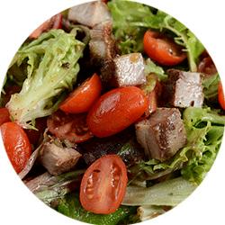 italian salad in kenosha, kenosha salad, casa capri
